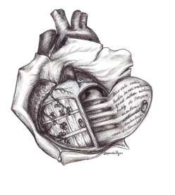 book image heart book